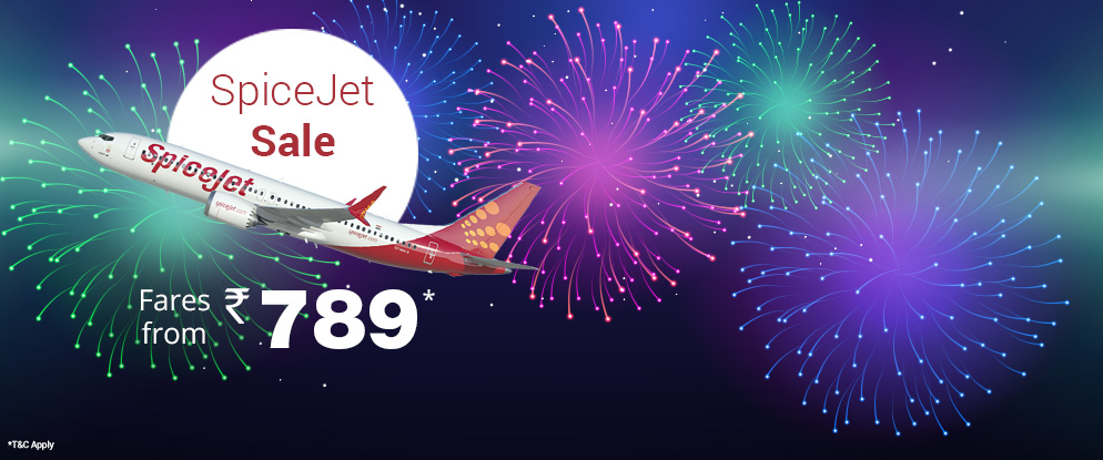 spicejet new year sale airfares from 789 viacom