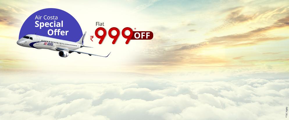 aircosta flight discount coupons